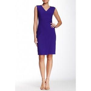 NWOT DVF Megan Dress in Chrome Purple